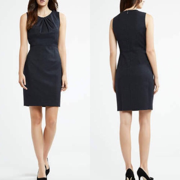 c7661c8fcd538 Elie Tahari Dresses & Skirts - ELLIE TAHARI ROSARIO NAVY BLUE SHEATH DRESS